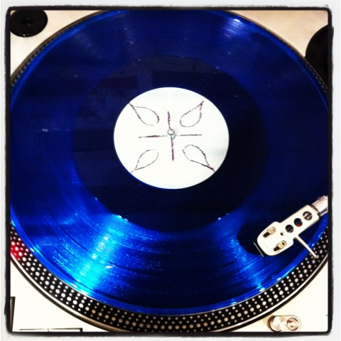 Demolished Thoughts, by Thurston Moore, on blue vinyl
