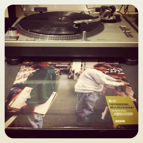 DJ Shadow, Endtroducing, Mo Wax, 1996