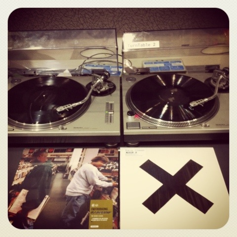 DJ Shadow, Entroducing vs. The XX, Coexist