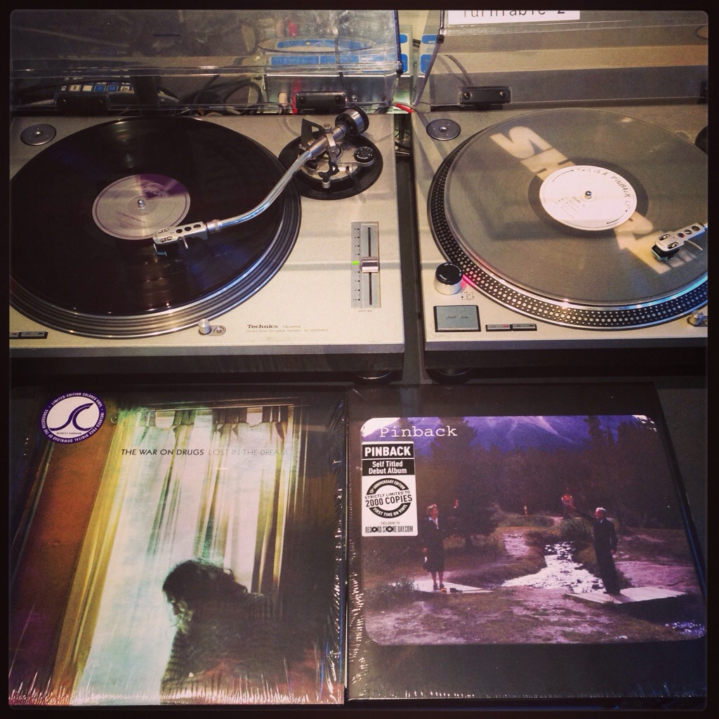 The War On Drugs, Lost In The Dream and Pinback, s/t.