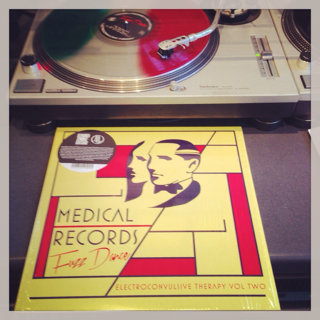 Electroconvulsive Therapy Two: Fuzz Dance, Various Artists, Medical Records.