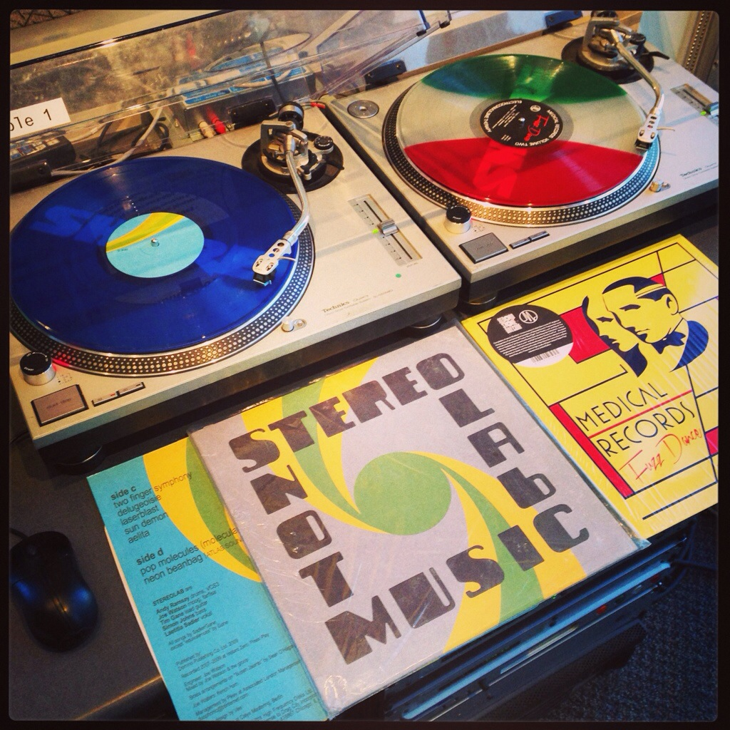 Stereolab, Not Music vs. Electroconvulsive Therapy Two: Fuzz Dance, Medical Records Compilation.
